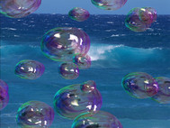 Amazing Bubbles 3D Screensaver screenshot